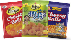 Cheese Balls and Cheese Rings
